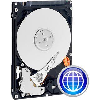 "80GB WD Scorpio Blue WD800BEVT 8MB 2.5"" (6.4cm) SATA 3Gb/s"