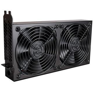 Lian Li PCI Cooling Kit schwarz 2x 120mm Lüfter für Gehäuse (BS-08B)