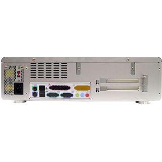 Silverstone La Scala LC04 Desktop 300 Watt silber