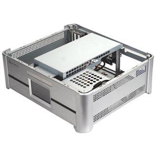 Silverstone Grandia GD02-MT Desktop ohne Netzteil silber