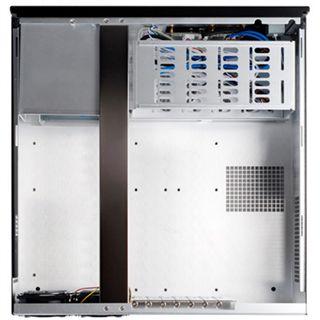 ATX Silverstone Crown CW01B-R Desktop Gehäuse o.NT Schwarz