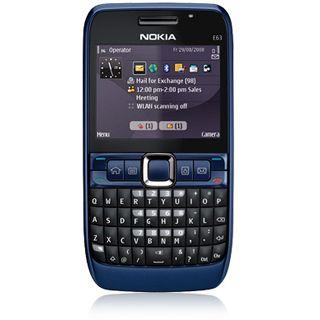 Nokia E63 Blue Smartphone Blau