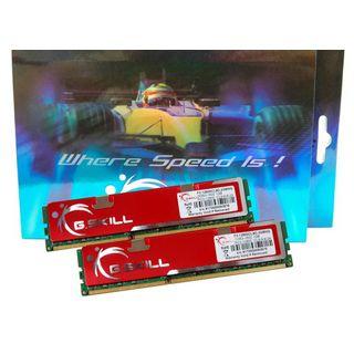 4GB G.Skill NQ Series DDR3-1600 DIMM CL9 Dual Kit