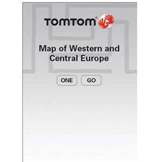 TomTom Karte von West und Central Europa 8.15 IQ Routes