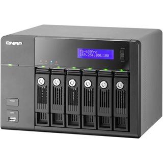 "QNAP Turbostation TS-639 Pro NAS System für 6x3,5"" eSATA/LAN HDD Schwarz"