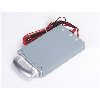 "2,5""(6,35cm) Silverstone SST-MS05S SATA/eSATA USB 2.0 Silber"