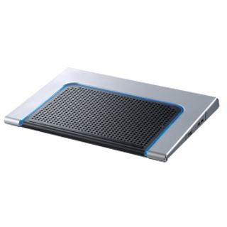 Xilence Notebook Kühler X17 + Cardreader Blau LED (blue)