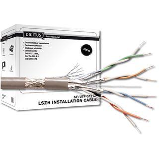 Digitus CAT 5e SF-UTP installation cable. raw 100m Grau