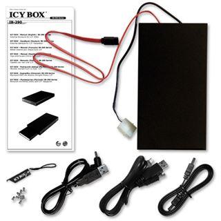 "ICY BOX IB-290StUSD-B 2.5"" (6,35cm) eSATA/USB 2.0 schwarz"