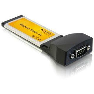 Delock Adapter Express Card 34mm 1x seriell