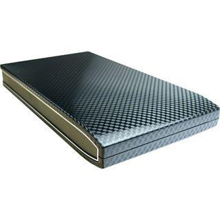 """2.5""""(6,35cm) Inter-Tech S-2502 Carbon SATA II USB 2.0 Carbon"""