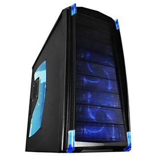Raidmax Quantum Window Midi Tower ohne Netzteil schwarz