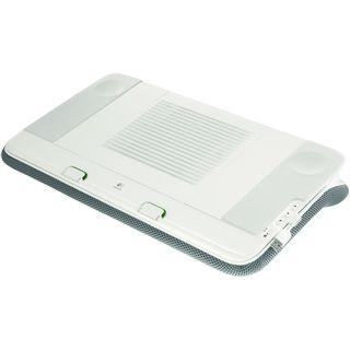 Logitech Passivboxen N700 lapdesk 1.0 System 2W RMS Weiß