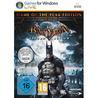 Batman: Arkham Asylum Game of the Year Edition (PC)
