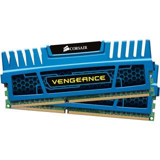 8GB Corsair Vengeance blau DDR3-1600 DIMM CL9 Dual Kit