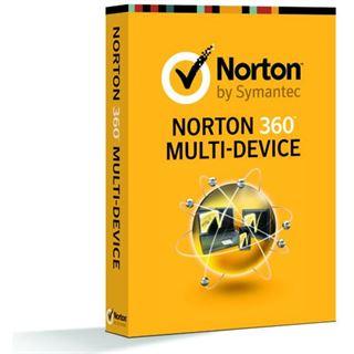 Symantec Norton 360 5.0 32/64 Bit Deutsch Internet Security Lizenz 1-Jahr PC (CD)
