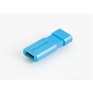 8 GB Verbatim Store `n` Go PinStripe blau USB 2.0
