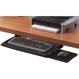 Fellowes Office Suites Tastaturschublade mit Mausablage schwarz