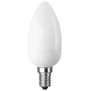 Good Connections Energiesparlampe 7W Kerze Warmweiß E14 A