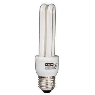 Xavax Energiesparlampe 11W 2U MINI E27