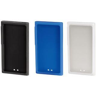 Hama MP3-Taschen-Set Sport Case für iPod nano 7G, Transparent/Schwarz/Blau