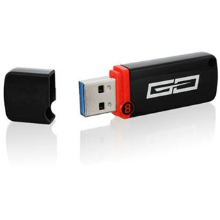 8 GB Sharkoon Flexi-Drive Go schwarz USB 3.0