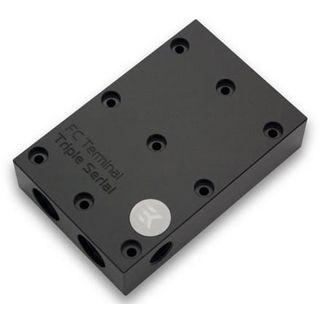 EK Water Blocks EK-FC TRIPLE Serial Anschlussterminal für EK-FC Titan (3831109868096)