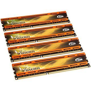 16GB TeamGroup xtreem vulcan orange DDR3-2400 DIMM CL10 Quad Kit
