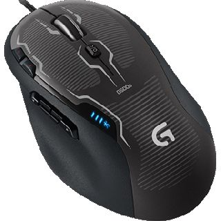 Logitech G500s USB schwarz (kabelgebunden)