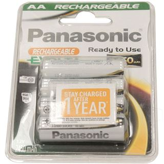 Panasonic Akku P6P AA 2400 mAh, NiMH, 4er Blister