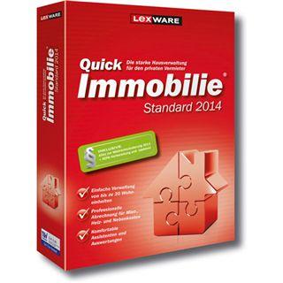 Lexware QuickImmobilie 2014 32/64 Bit Deutsch Office Vollversion PC (CD)