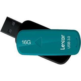 16 GB Lexar JumpDrive S33 dunkelgruen USB 3.0