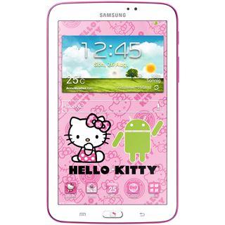 """7.0"""" (17,78cm) Samsung Galaxy Tab 3 7.0 T2100 Hello Kitty Edition WiFi/Bluetooth V3.0 8GB weiss/rosa"""