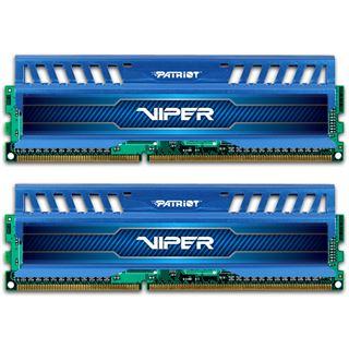 8GB Patriot Viper 3 Series - Blue Sapphire DDR3-1600 DIMM CL9 Dual Kit