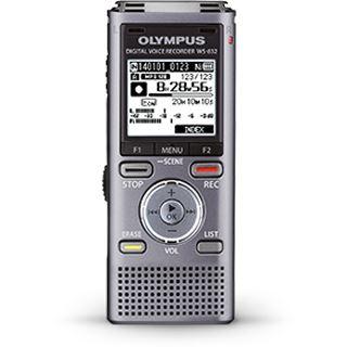 OLYMPUS WS-832 Audio Recorder grau