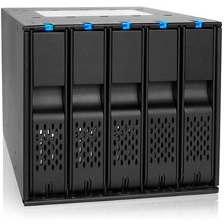 """Icy Dock FlexCage 3x 5,25"""" Wechselrahmen für 5x 3,5"""" Festplatten (MB975SP-B)"""