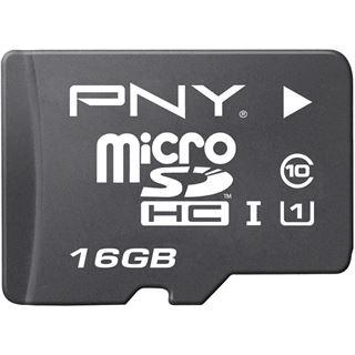 16 GB PNY microSDHC Class 4 Retail inkl. Adapter auf SD