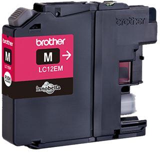 Brother Tinte LC12EM magenta