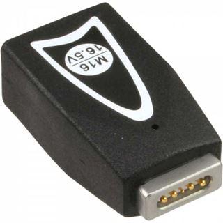 InLine Wechselstecker M16 16,5V, für Apple, für Universal Netzteil, 90W/120W, schwarz