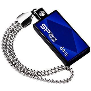 64 GB Silicon Power 810 blau USB 2.0