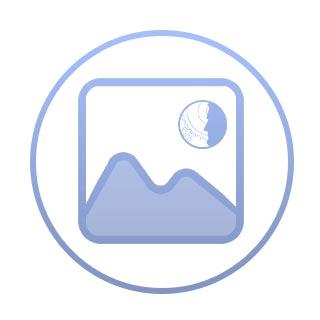 Rubbermaid Abfallbehälter Slim Jim, 87 Liter, blau + Logo