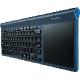 Logitech TK820 Wireless All-in-One Keyboard USB Deutsch schwarz (kabellos)