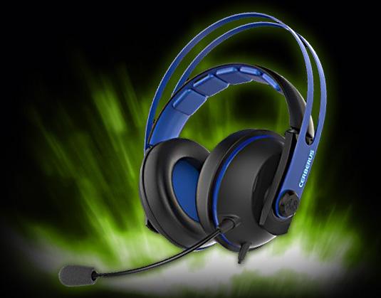 ASUS Headset CERBERUS V2 Blau